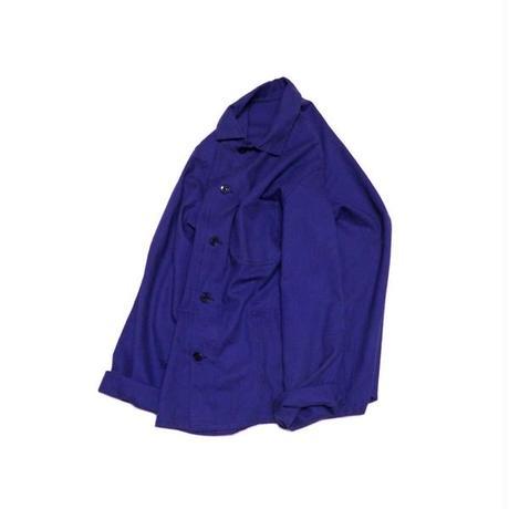 【ヨーロッパ古着】 インクブルー ワークジャケット サイズ感◎