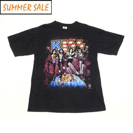 【KISS】 90s ワールドツアーTシャツ XLサイズ!