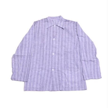 【フランス軍】 50s フランネル地 パジャマシャツ 未使用