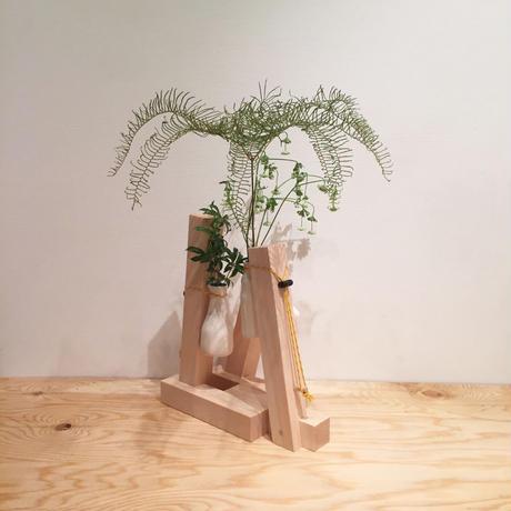 "FLOWER VASE ""L"" (size S) / KOTARO SAKAZUME × studio BOWL"