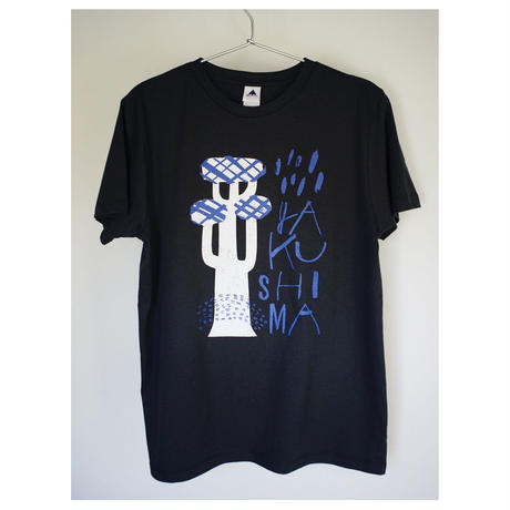 屋久島Tシャツ(ブラック)