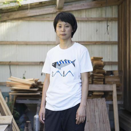 SABA ティシャツ(白)