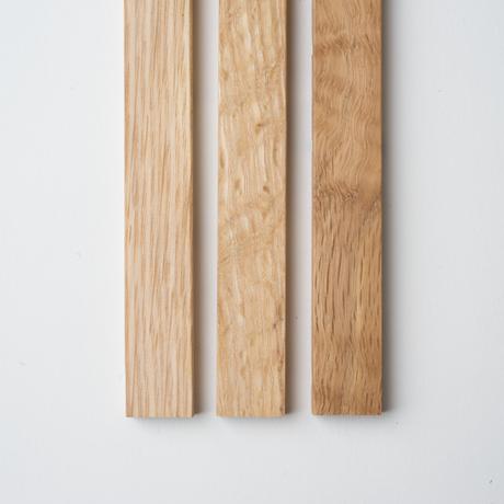 【タペストリー棒 】 大(手ぬぐい横長用95cm)/  ハードメープル材⇒オーク材