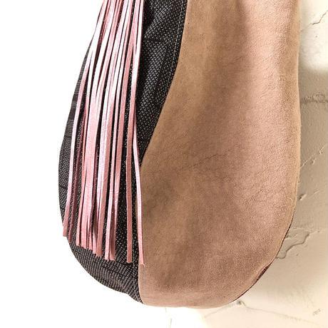 361|八王子織物×豚革のリユースボニー(size/S)