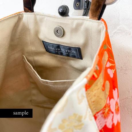 504|お雛さま生地のボニーバッグ(size/M)