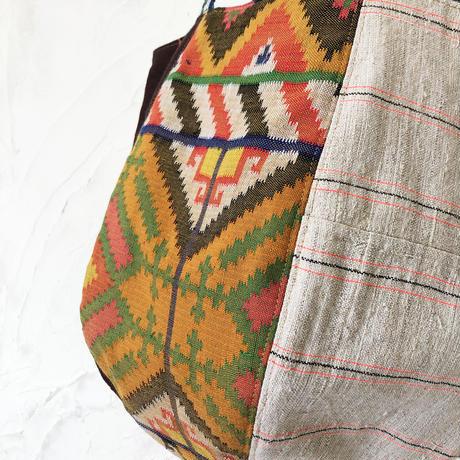 329| タウスグ族(フィリピン)・モン族(ラオス) ボニーバッグ(size/M)