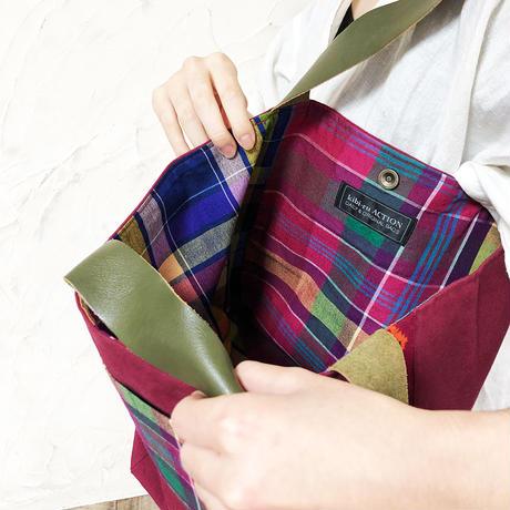 06 フィリピン・マラナオ族・民族衣装のトートバッグ