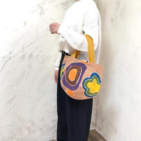 454|作家手染め布ボニー・トートバッグ(size/M)