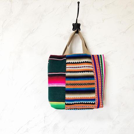 397 中南米の織物&ミャンマー・ナガ族の手刺繍