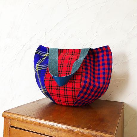 223| ケニア・マサイシュカ・ボニーバッグMサイズ
