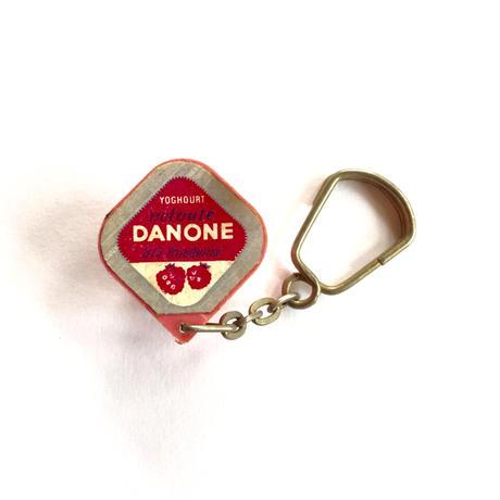 France 1960's キーホルダー DANONE ダノンヨーグルト