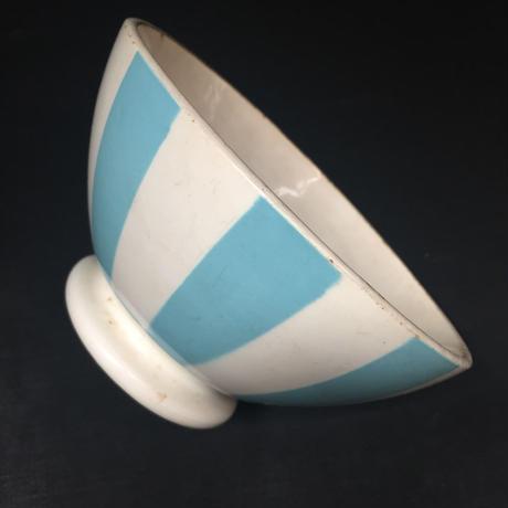 France Vintage DIGOIN Bol ディゴワン カフェオレボウル ブルー ストライプ