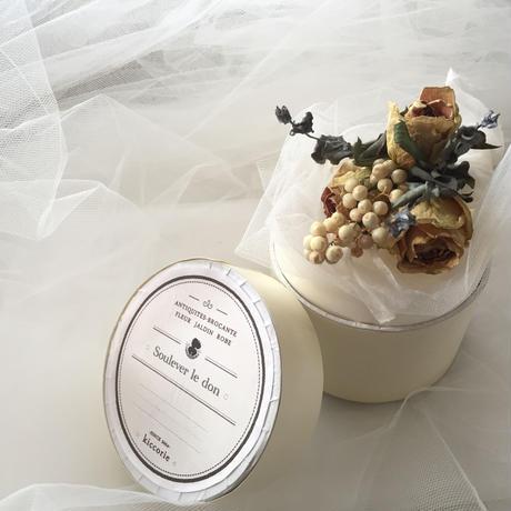 Giftboxとミニブーケ_white