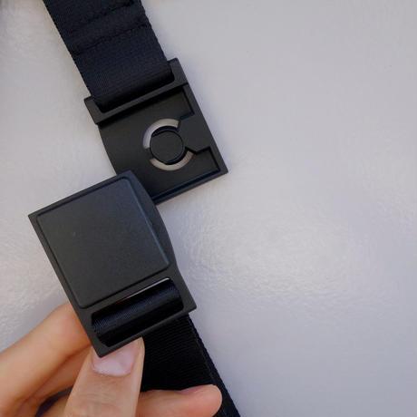 liner shoulder(サンド・ブラック)
