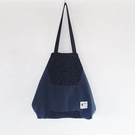 flag bag / wool(ブラック)