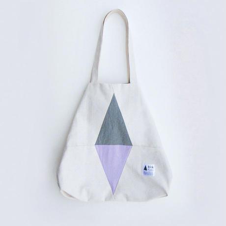 flag bag(スモーキーグリーン・ペールパープル)