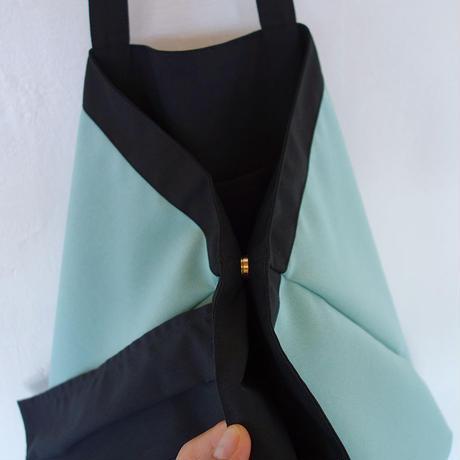 flag bag(ミント・ブラック)
