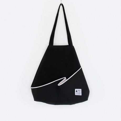 flag bag / fold(ブラック)