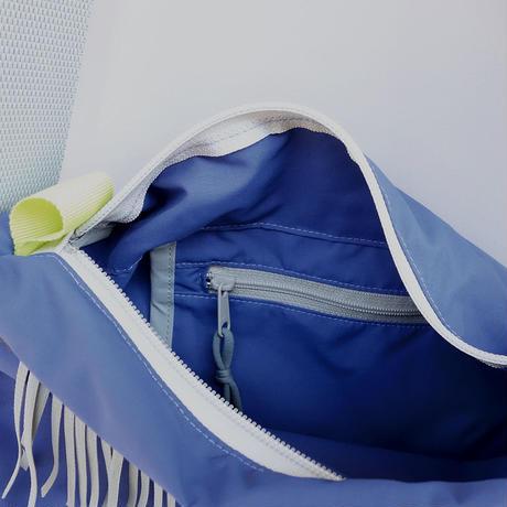liner shoulder(ブルーパープル・グレー)