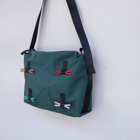 himo ribbon bag(グリーン・4c)