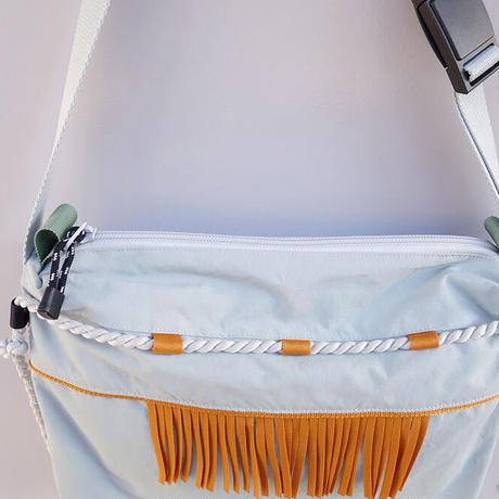 liner shoulder(キャメル・ グレーロープ)