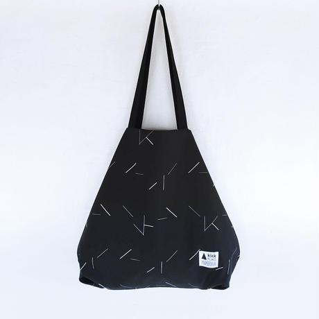 flag bag / lane(ブラック)