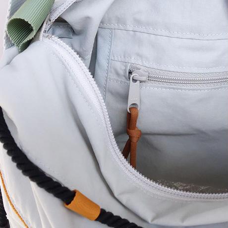 liner shoulder(グレー・キャメル)