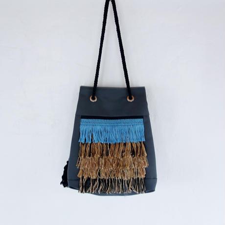 hairy bag(ライトブルー・ブラウン)