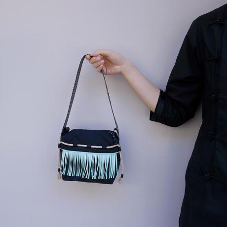 liner hand bag(ブラック・ミント)