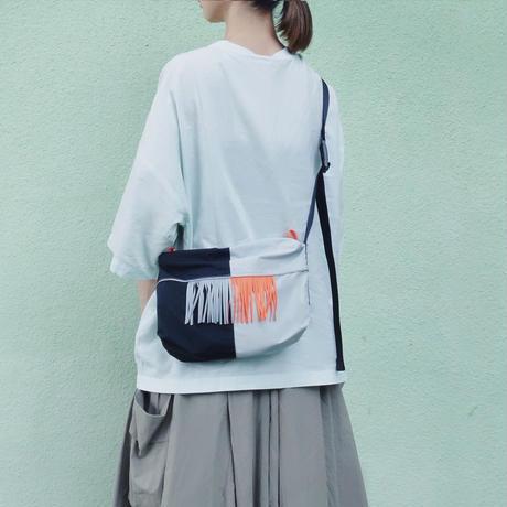 half shoulder(グレー・オレンジ)