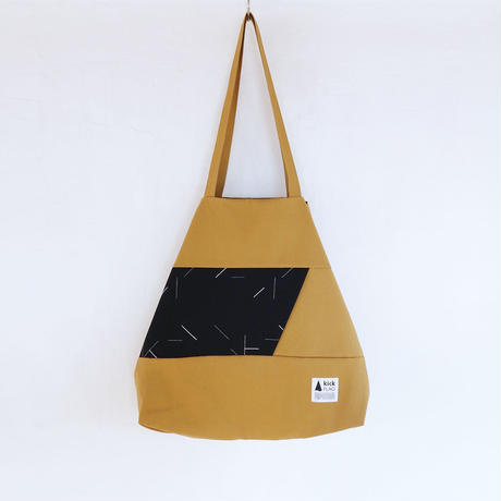 flag bag(クリームキャメル)
