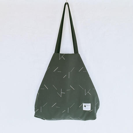 flag bag / lane(カーキ)