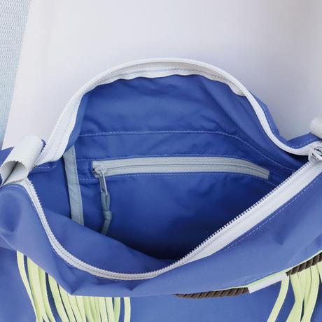 liner shoulder(ブルーパープル・ライム)