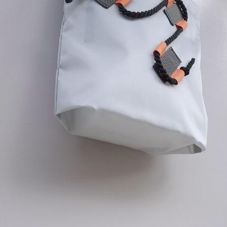 mini bag(シルバーグレー・ペールパープル)