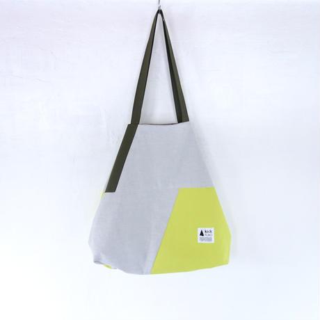 flag bag(カーキ・イエロー)