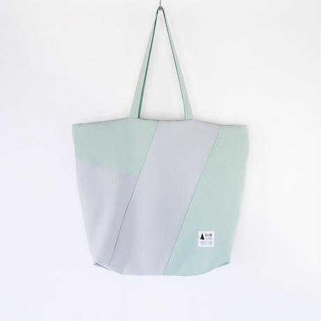 flag bag(ペールグリーン・ペールグレー)