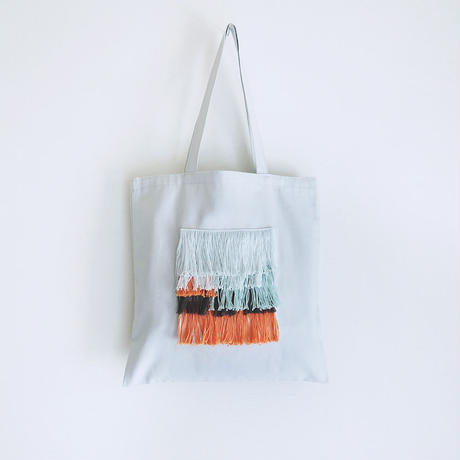 hairy bag / square(ペールグレー)
