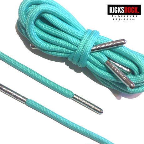 """ROPE LACES """"JADE"""" silver tip"""