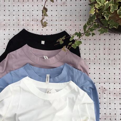 CottonLOngSleeveT-shirt/nachukara'19SS/ nk-25135