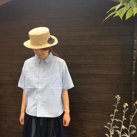 半袖ワークシャツ/  CLIP TAB'19SS/3193T-002