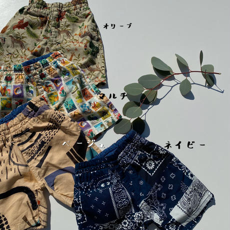 Jr.KAMEHAMEHA SHORTS/Ocean&Ground'20SS/1017253