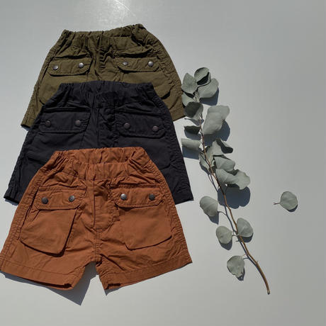 Jr.POCKET SHORTS/Ocean&Ground'20SS/1017255