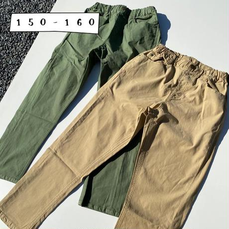 Jr.TARPARD PANTS(150-160)/Ocean&Ground'20SS/1017052