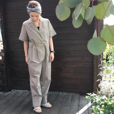 テーラードカラージャンプスーツ/  merlot /0621
