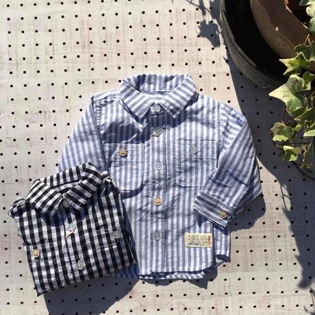 スタンダードシャツ/BLUEU AZUR'19春/C32090