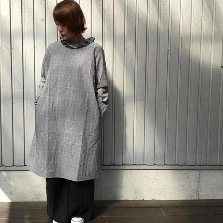 フリル衿ワンピース/LUEUF'18AW/u300602