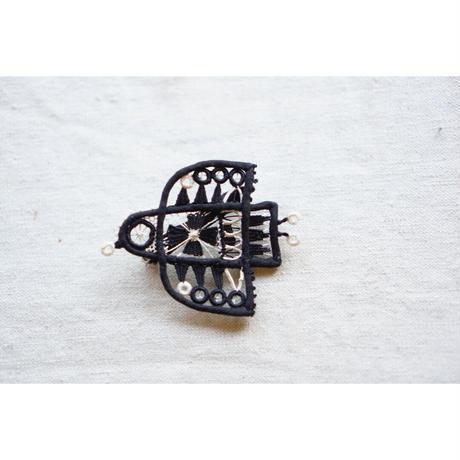 ブローチ・黒い鳥 / coicaru