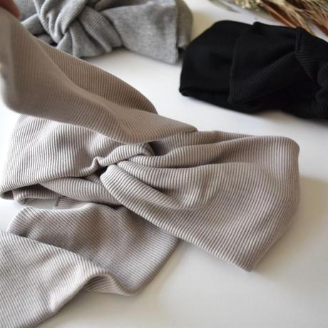 Peru T-shirt RIB turban / 2way ribbon