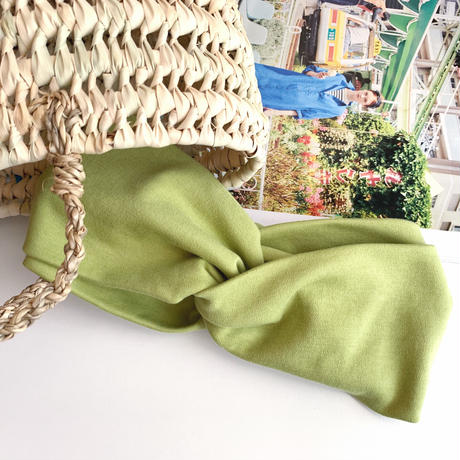 T-shirt turban green