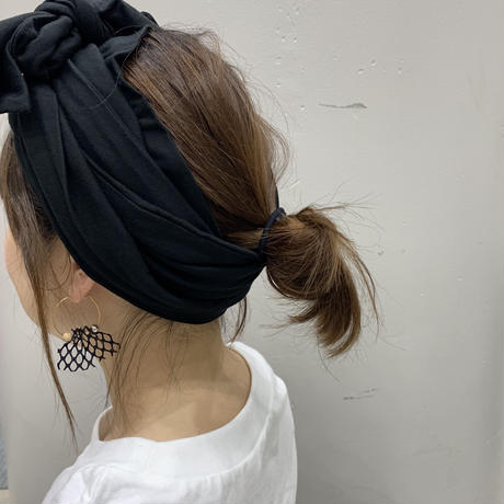 Peru T-shirt / long scarf turban